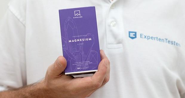 Magnesiumcitrat Kapseln von Aava Labs - Neue Formel: KEIN Magnesiumstearat & 180 Kapseln
