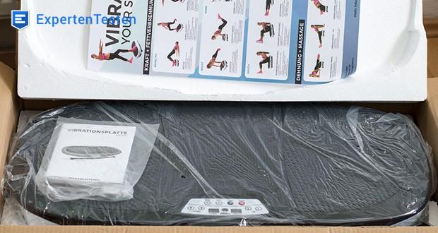 Miweba Sports MV200 3D Vibrationsplatte - um bestmögliche Trainingserfolge zu erzielen, ist die 3 Zonen Rüttelplatte mit 99 Intensitätsstufen und 3 vorgefertigten Trainingsprogrammen ausgestattet