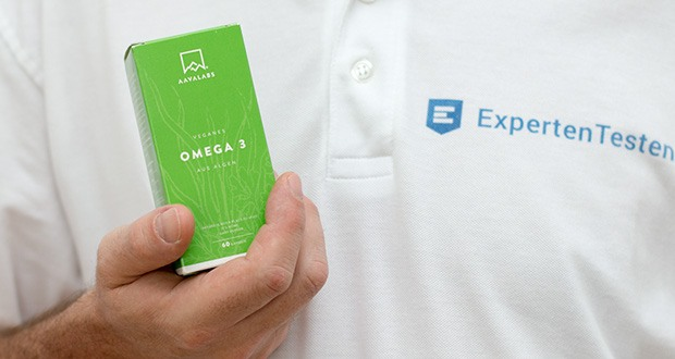 Aava Labs Omega 3 Vegan Fettsäuren aus Algenöl - 300 EPA and 600 DHA pro Tagesdosis