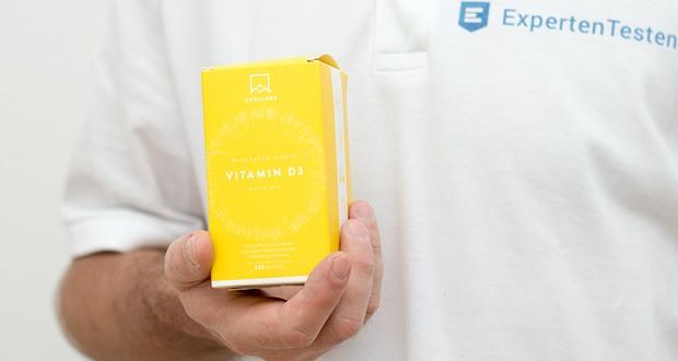 Vitamin D3 von Aava Labs - mit Extra Virgin Olivenöl für optimale Absorption