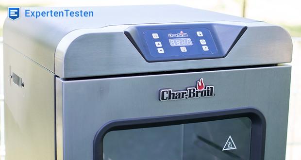 Digital Smoker von Char-Broil - die Temperaturen können zwischen 37°C und 135°C eingestellt werden