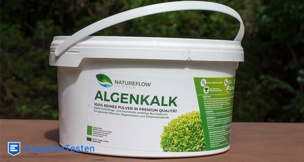 Der Natureflow Algenkalk ist aus 100% Lithothamnium Calcareum