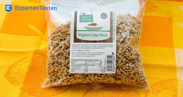 Veganes Soja-Hack von Veggy Friends - Rein Pflanzlich mit den Wertvollen Inhaltsstoffen der Sojabohne