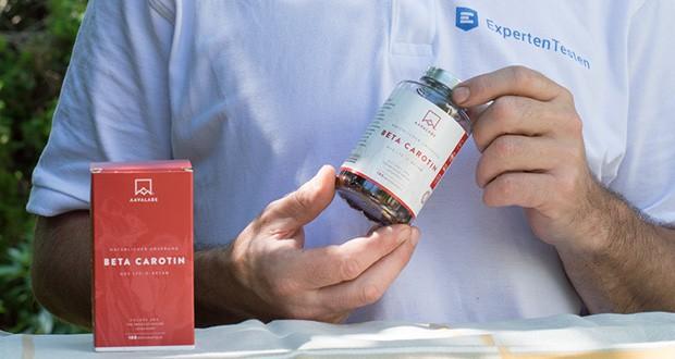 Beta Carotin von Aava Labs Premium Beta - Carotin (Vitamin A) Nahrungsergänzungsmittel