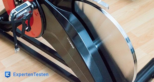 Durch das hochwertige SPD Klicksystem – Shimano Pedaling Dynamics – können Sie das Miweba Sports Indoor Cycle MS500 wie ein professionelles Speedbike fahren