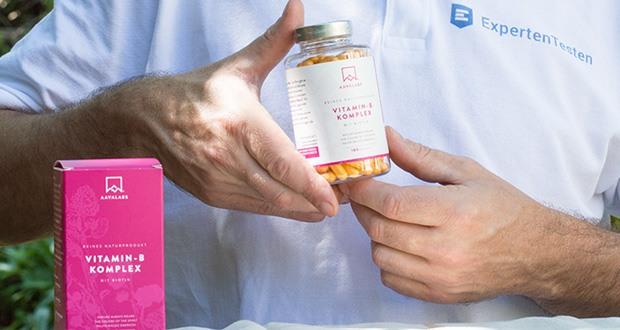 Vitamin B Komplex Hochdosiert von Aava Labs - hochpotentes B-Komplex in einer täglichen Portion