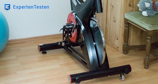 Der Miweba Sports Indoor Cycle MS500 Pulsgurt lässt sich via Bluetooth mit dem Multifunktionsdisplay verbinden