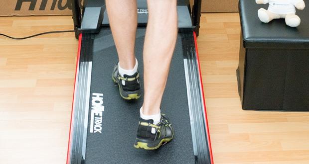 Miweba Sports Laufband Home Track HT1000F mit incline ist mit einem maximalen Steigungswinkel von 6 % versehen, so dass Sie Ihr Lauftraining ganz bequem Indoor absolvieren könne