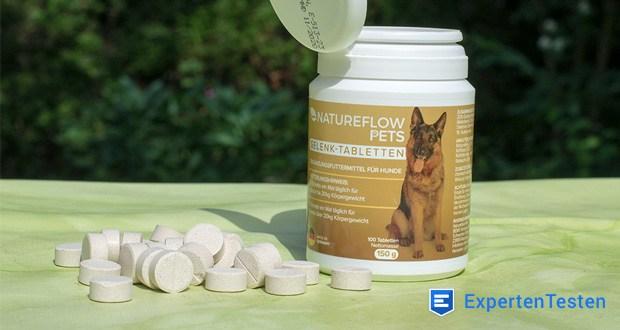 Gelenktabletten für Hunde von Natureflow - das in Deutschland hergestellte Gelenk-Nahrungsergänzungsmittel wirkt hier unterstützend – zur Förderung der Freude an Bewegung & viel viel Spiel-Power