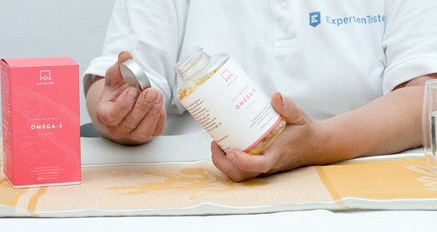 Omega 3 Fischöl von Aava Labs - frei von Milcherzeugnissen und Gluten; mit den höchsten Qualitätsstandards hergestellt