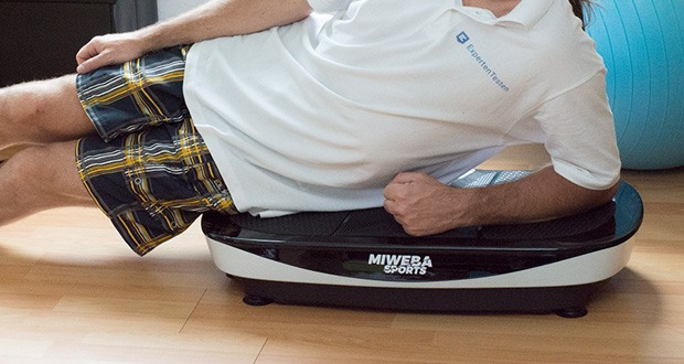 Vibrationsplatte MV200 3D von Miweba Sports im Test