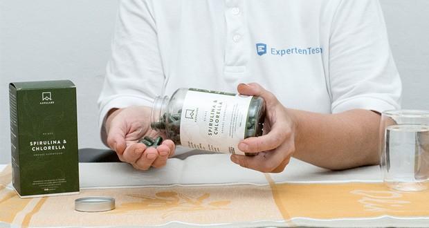 Spirulina Chlorella Algen Kapseln (1800 mg) von Aava Labs im Test