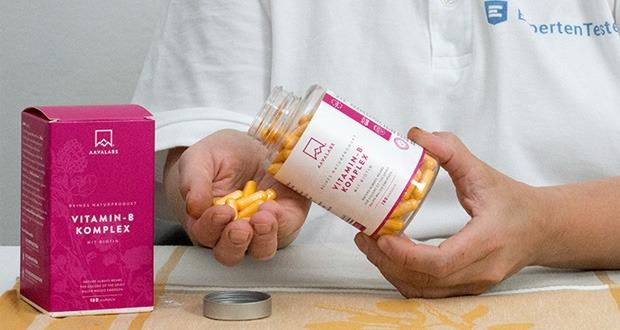 Aava Labs Vitamin B Komplex Hochdosiert im Test