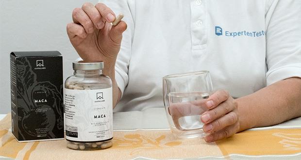 Maca L - Arginin (5600 mg) von Aava Labs im Test