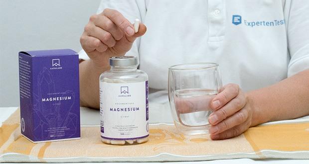 Magnesiumcitrat Kapseln [ 400 mg ] von Aava Labs im Test