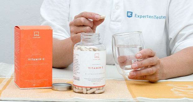 Natürliche Vitamin C Kapseln von Aava Labs im Test
