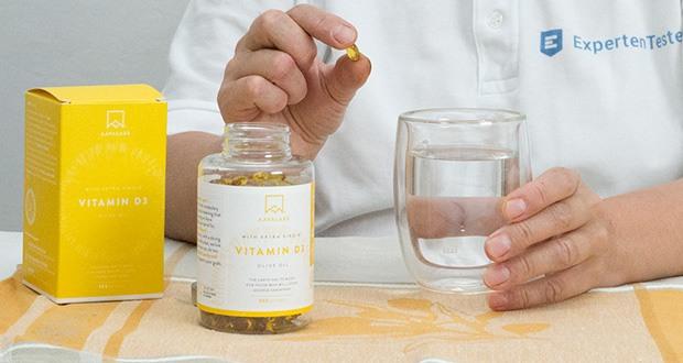 Hochdosiert Vitamin D3 (5000 IE) von Aava Labs im Test