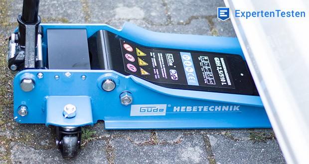 Güde Rangierwagenheber GRH 2,5/510 L - Sehr gut geeignet für tiefergelegte Fahrzeuge