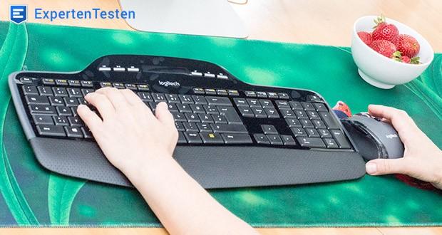 Logitech Wireless Keyboard + Mouse MK710 von FortKnox - 3 Jahre Batterielebensdauer