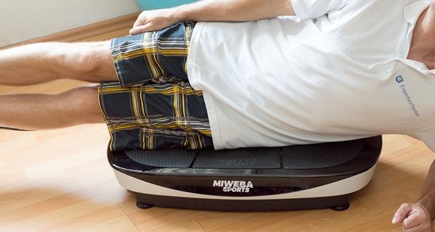 Vibrationsplatte MV200 3D von Miweba Sports im Test - bestmögliche Trainingserfolge