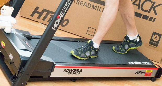 Das Laufband Home Track HT1000F mit incline von Miweba Sports im Test - für Läufer gedacht und gemacht!