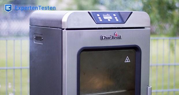 Char-Broil Digital Smoker - die Edelstahlverriegelung mit Rauchabdichtung verhindert, dass Rauch nach außen tritt, um das Smoking-Ergebnis zu perfektionieren
