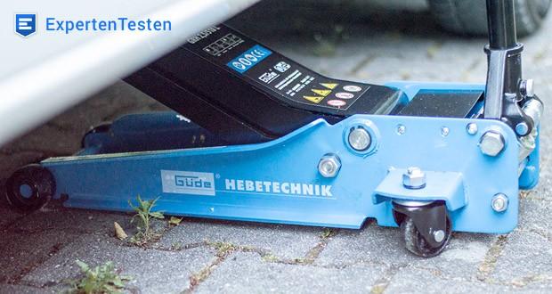 Rangierwagenheber GRH 2,5/510 L von Güde im Test