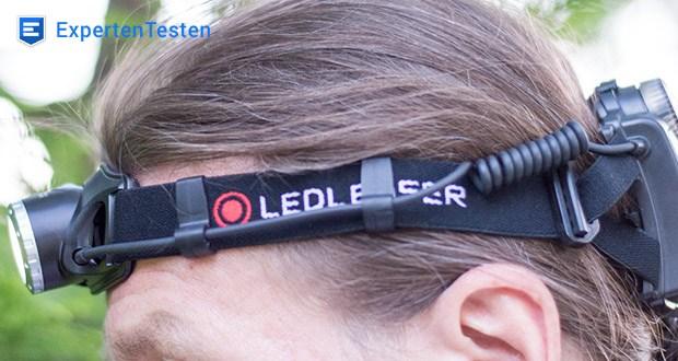 LED-Stirnlampe H7R.2 von Ledlenser ist nach IPX6 gegen Feuchtigkeit geschützt