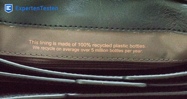 Matt & Nat Trek Reisetasche aus 100% recyceltem Nylon