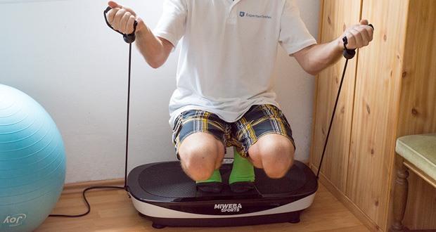 Vibrationsplatte MV200 3D von Miweba Sports im Test - zielgerichtete Funktionen für ein gesundes und nachhaltiges Vibrationstraining