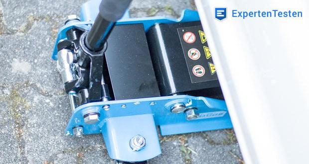 Güde Rangierwagenheber GRH 2,5/510 L - mit ergonomischem Transportgriff