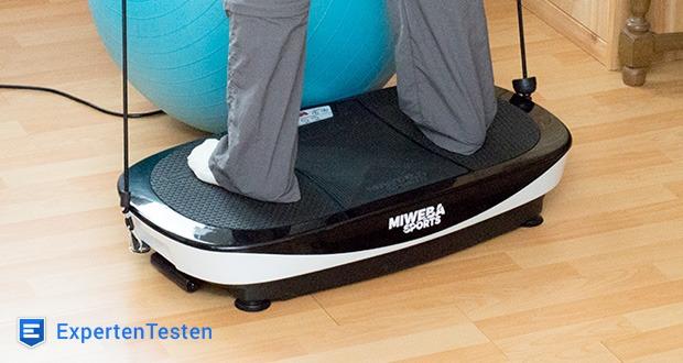 Die Miweba Sports Vibrationsplatte MV200 3D bietet zielgerichtete Funktionen für ein gesundes und nachhaltiges Vibrationstraining