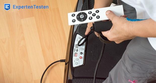 Verbinden Sie Ihr Smartphone über Bluetooth mit der Miweba Sports Vibrationsplatte MV200 3D