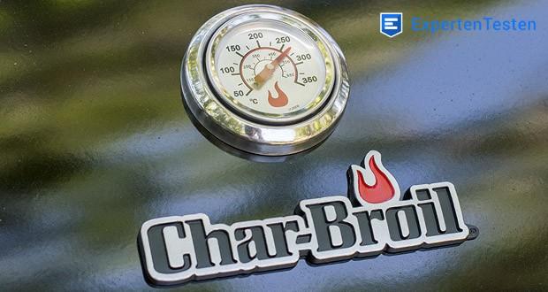 Der 3 Brenner Gasgrill Performance Series 340B von Char-Broil mit Rosthöhen-Thermometer - kontrollieren die Temperatur auf Rosthöhe