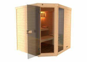 Die einfache Bedienung vom Sauna Testsieger im Test und Vergleich