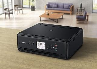 Der PIXMA TS5050 Multifunktionsdrucker von Canon ist sehr kompakt im Test