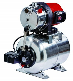 Das GC-WW 1250 NN Hauswasserwerk von Einhell ist sehr stabil im Test