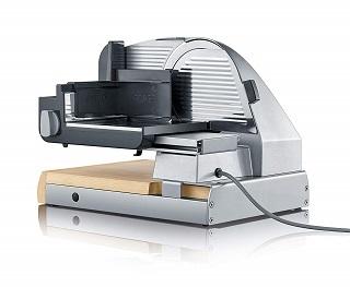Die S85010 Brotschneidemaschine von Graef hat eine hochwertige Verarbeitung im Test und Vergleich