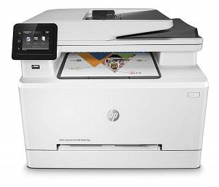 Der Color LaserJet Pro MFP M281fdw Multifunktionsdrucker von HP hat eine einfache Bedienung im Test
