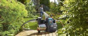 Hauswasserautomat Gardena Premium 6000 6E LCD Garten