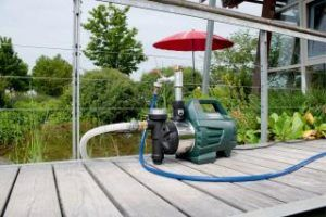 Hauswasserautomat Metabo 600979000 Terasse