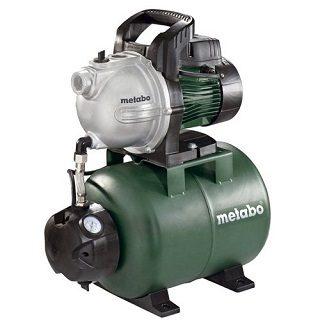 Das HWW 400025 G Hauswasserwerk von Metabo ist sehr kompakt im Test und Vergleich