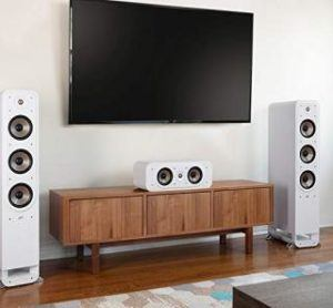 Polk Center Lautsprecher Audio Signature S30e Ambiente