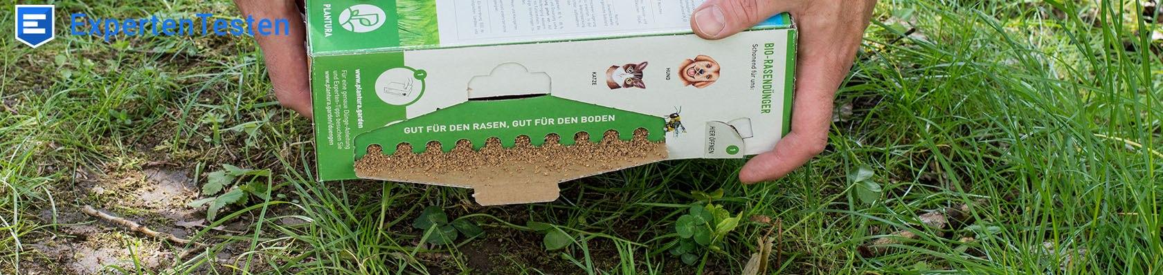 Rasendünger im Test auf ExpertenTesten.de