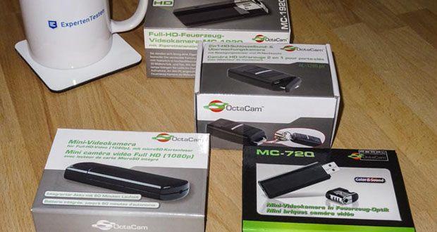 OctaCam Mini Cams im Test