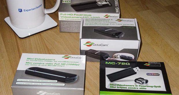 Mini USB Kameras von OctaCam im Test