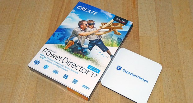 CyberLink PowerDirector 17 Ultra für Windows im Test