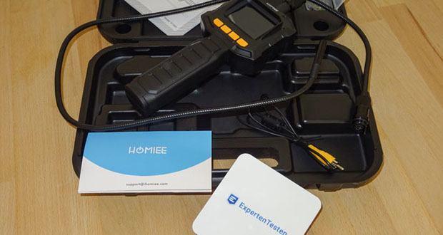 HOMIEE Hand LCD Endoskop Kamera im Test