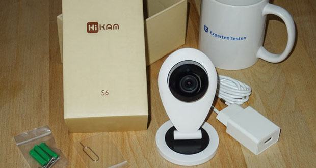 HiKam S6 Überwachungskamera im Test
