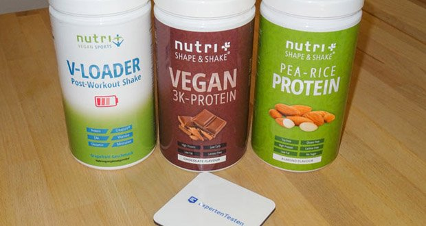 POST WORKOUT Shake V LOADER von Nutri-Plus ist hochdosierter Post-Workout Shake